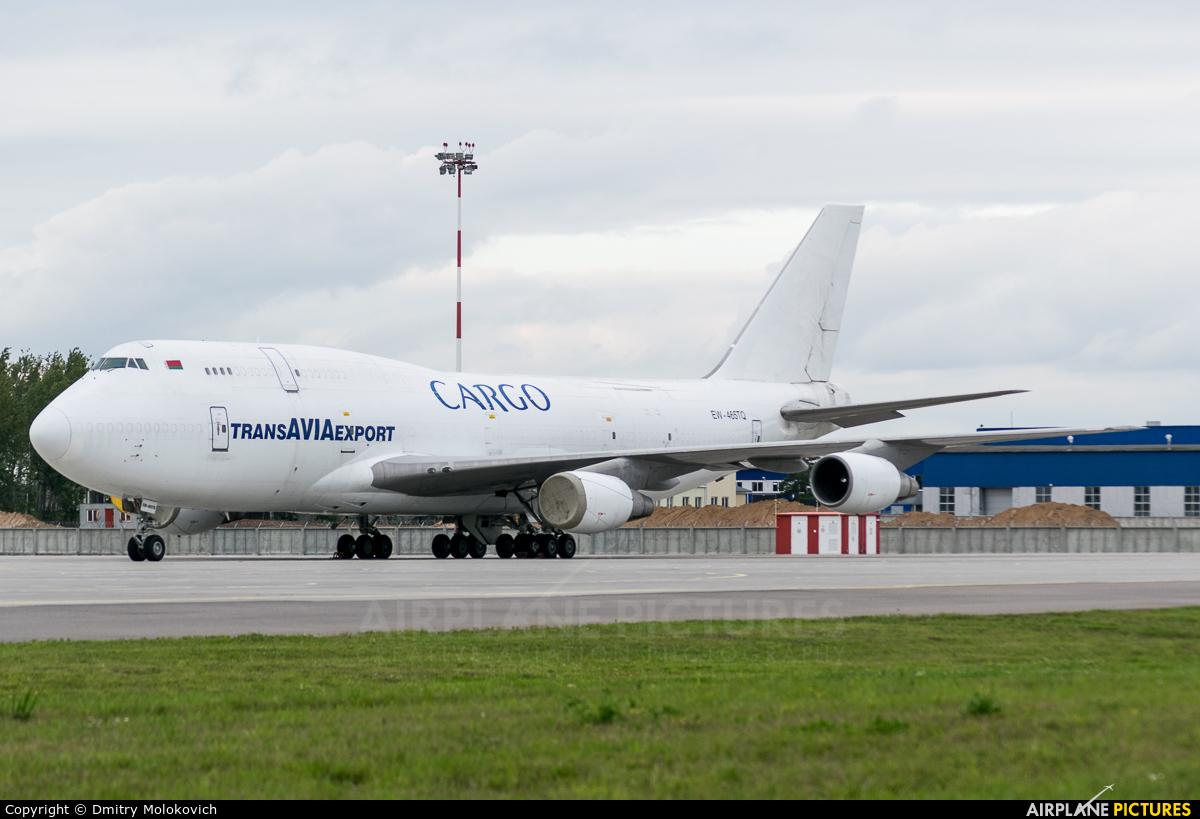 TransAviaExport EW-465TQ aircraft at Minsk Intl