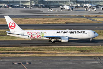 JA656J - JAL - Japan Airlines Boeing 767-300