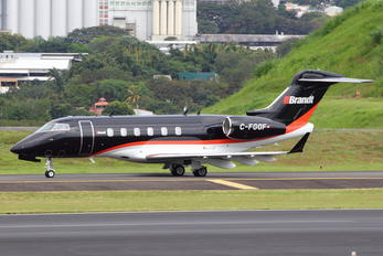 C-FGGF - Private Bombardier BD-100 Challenger 300 series
