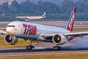 PT-MUA - TAM Boeing 777-300ER aircraft