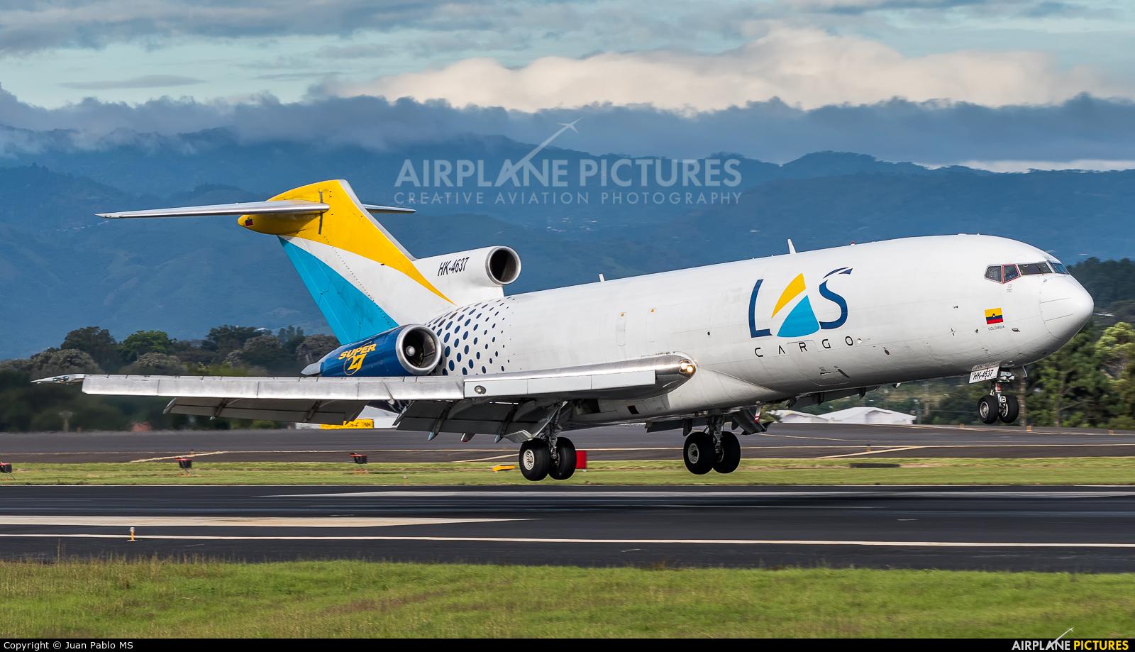 Lineas Aereas Suramericanas HK-4637 aircraft at San Jose - Juan Santamaría Intl