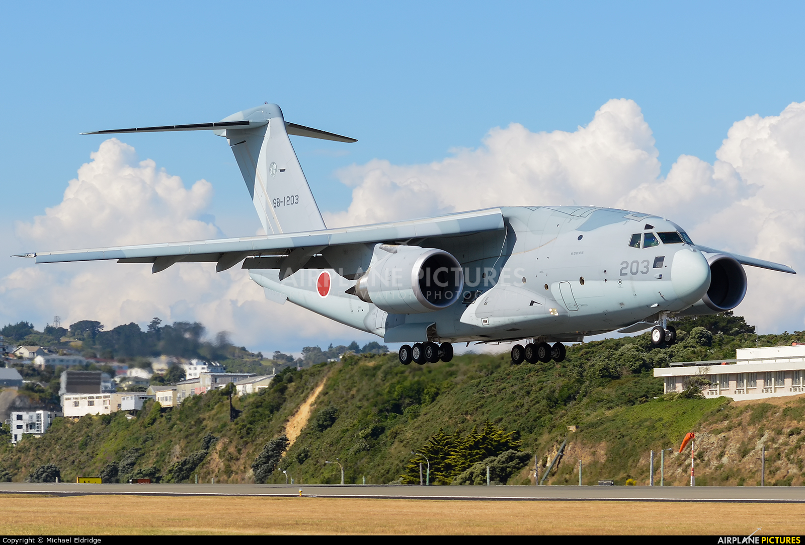 Japan - Air Self Defence Force 68-1203 aircraft at Wellington Intl