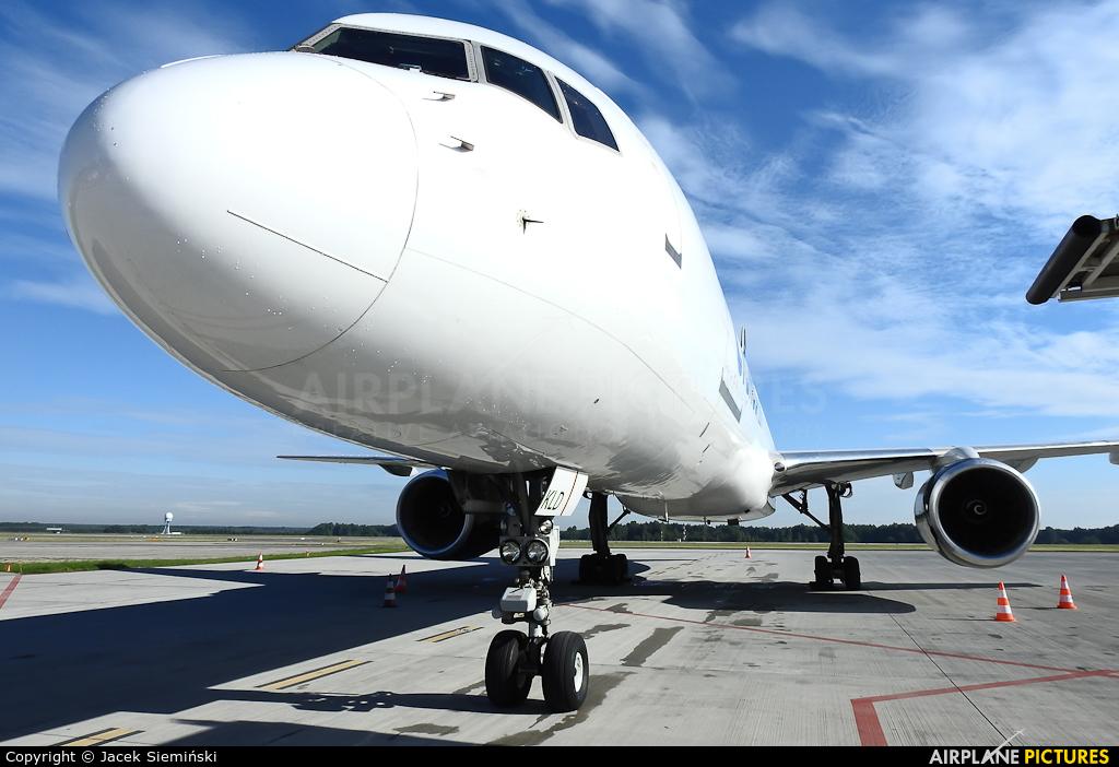 Cygnus Air EC-KLD aircraft at Katowice - Pyrzowice