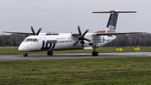 SP-EQI - LOT - Polish Airlines de Havilland Canada DHC-8-402Q Dash 8 aircraft