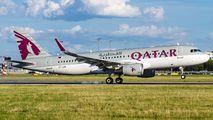 A7-LAA - Qatar Airways Airbus A320 aircraft