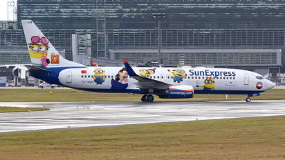 TC-SOH - SunExpress Boeing 737-800