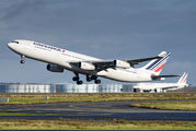 F-GLZJ - Air France Airbus A340-300 aircraft