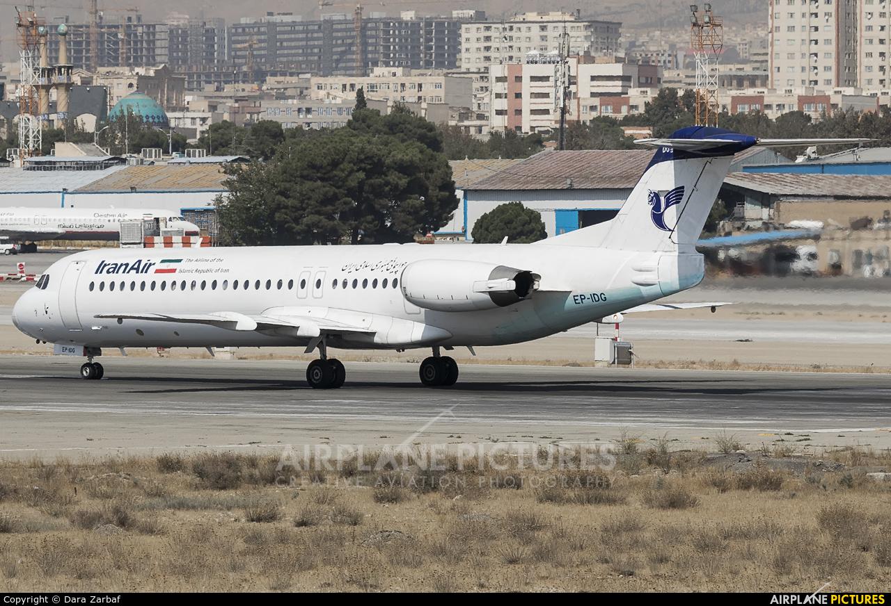 Iran Air EP-IDG aircraft at Tehran - Mehrabad Intl
