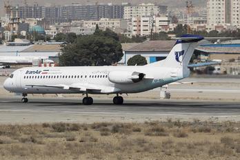 EP-IDG - Iran Air Fokker 100
