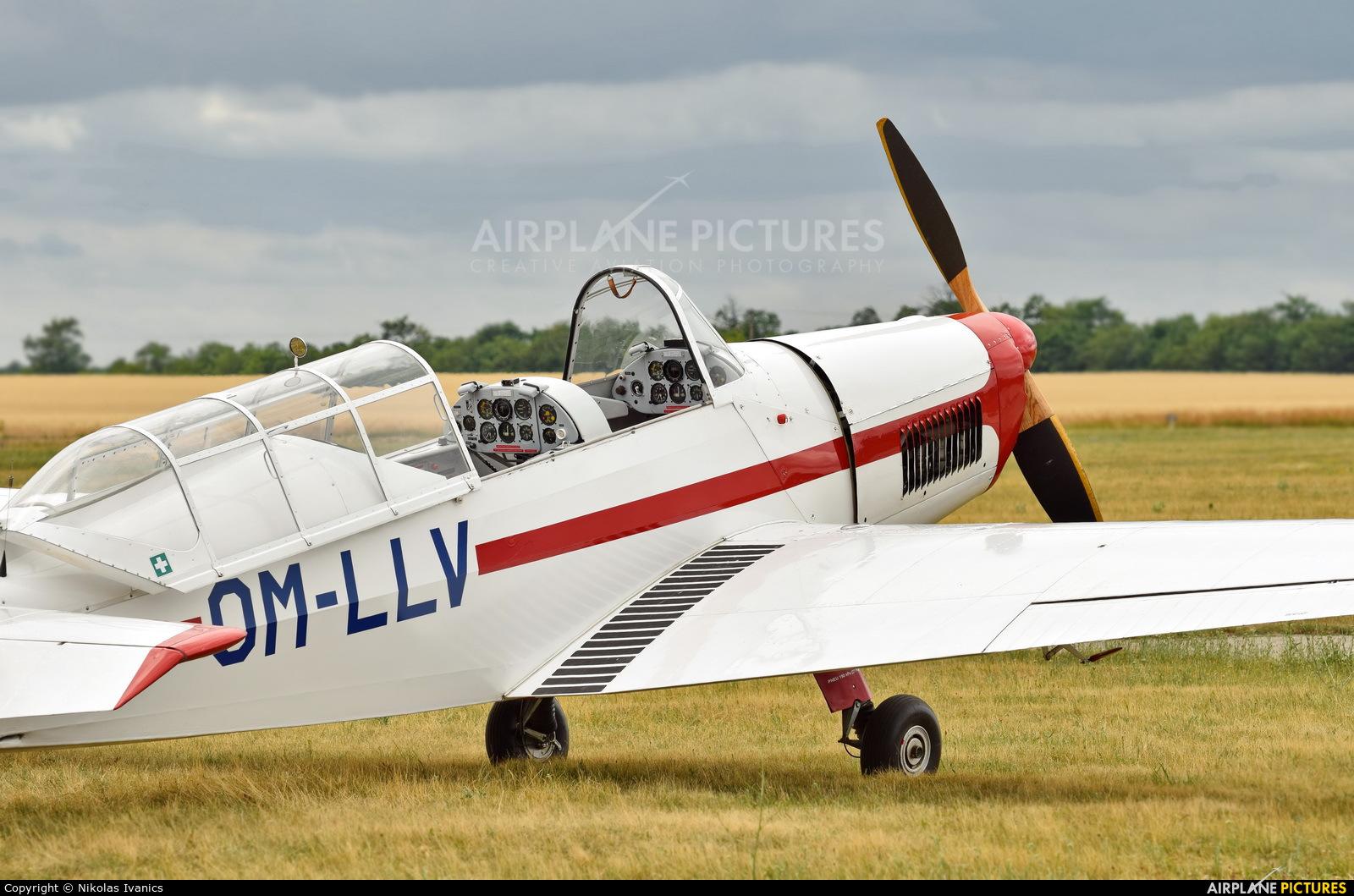 Aeroklub Trnava OM-LLV aircraft at Nové Zámky