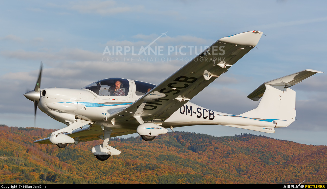 Flying Service School Banska Bystrica OM-SCB aircraft at In Flight - Slovakia