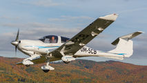 OM-SCB - Flying Service School Banska Bystrica Diamond DA 40 Diamond Star aircraft