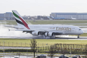 A6-EUC - Emirates Airlines Airbus A380