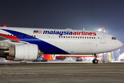 9M-MTA - Malaysia Airlines Airbus A330-300 aircraft