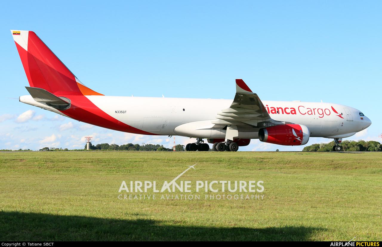 Avianca Cargo N335QT aircraft at Curitiba -  Afonso Pena