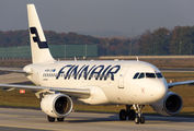 OH-LVH - Finnair Airbus A319 aircraft