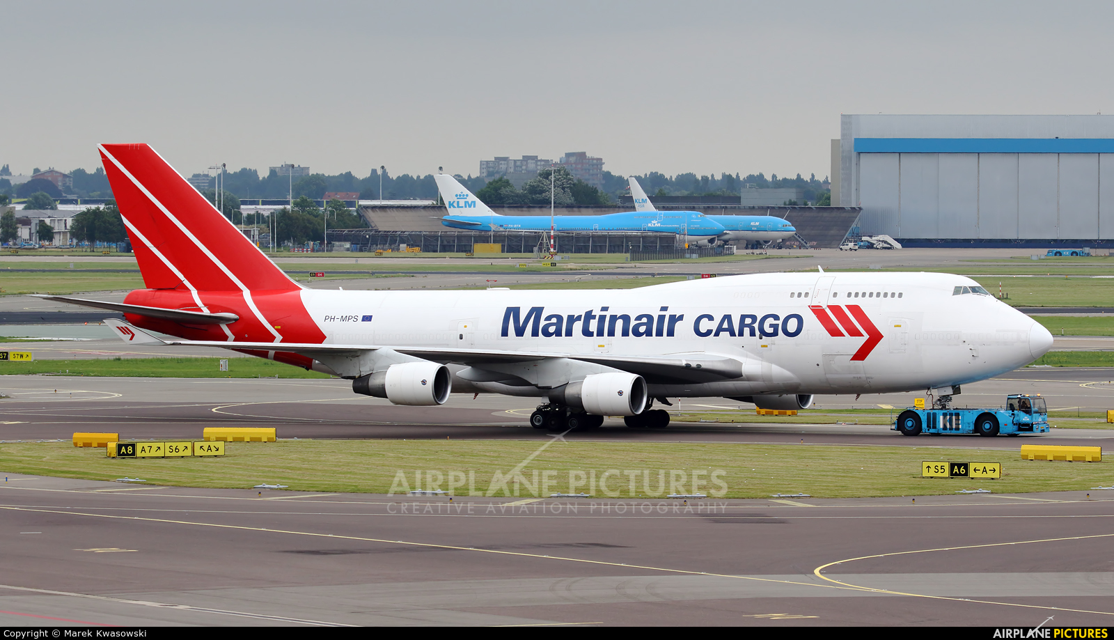 Martinair Cargo PH-MPS aircraft at Amsterdam - Schiphol