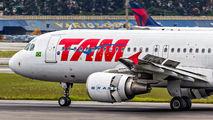 PR-MHF - TAM Airbus A320 aircraft