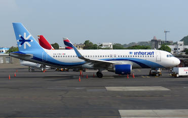 XA-CBA - Interjet Airbus A320