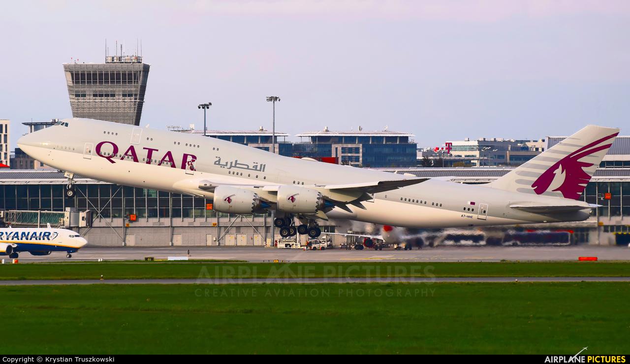Qatar Amiri Flight A7-HHE aircraft at Warsaw - Frederic Chopin
