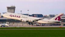 A7-HHE - Qatar Amiri Flight Boeing 747-8 BBJ aircraft