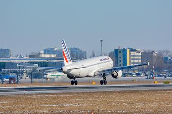 F-GKXR - Air France Airbus A320