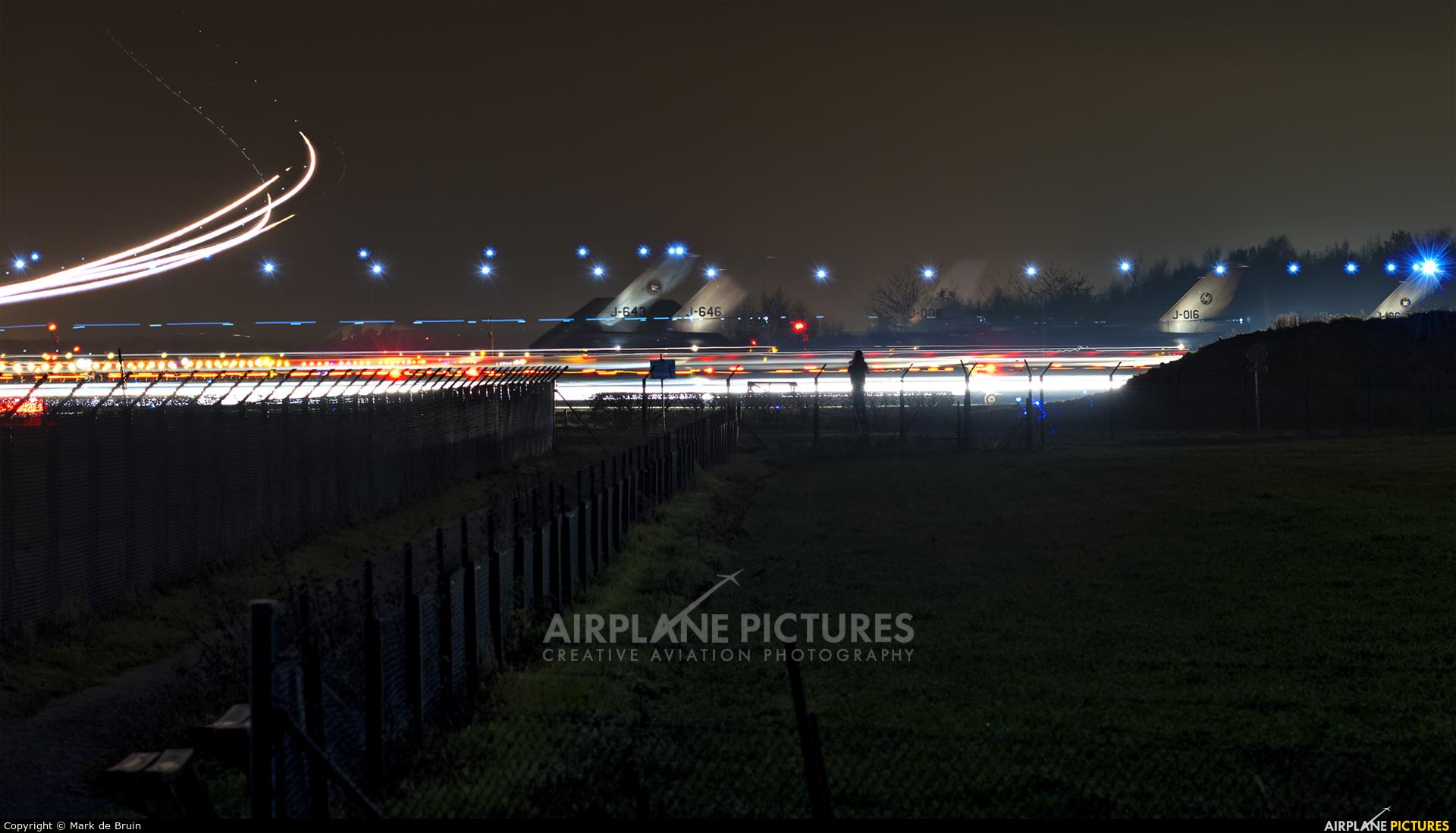 Netherlands - Air Force J-643 aircraft at Uden - Volkel