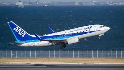 JA18AN - ANA - All Nippon Airways Boeing 737-700