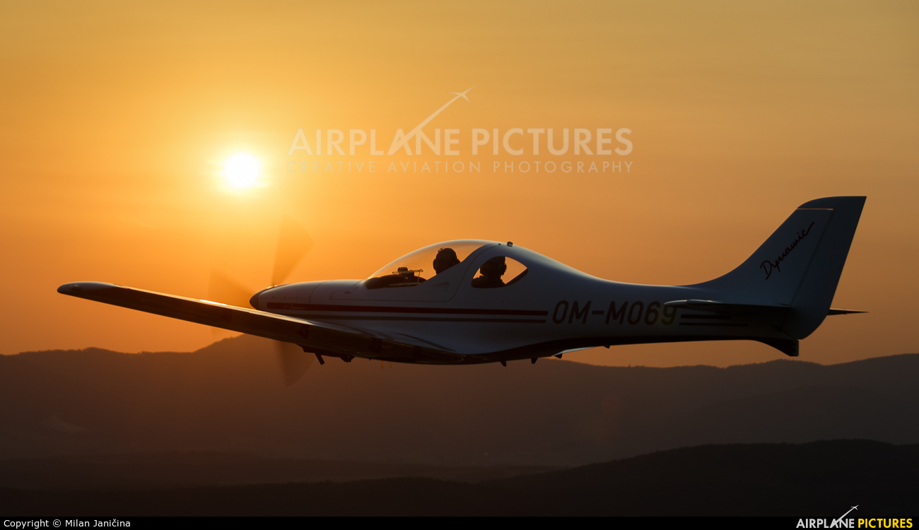 Private - aircraft at In Flight - Slovakia