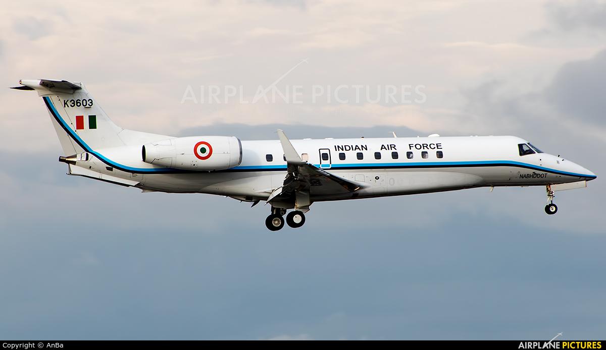 India - Air Force K3603 aircraft at Mumbai - Chhatrapati Shivaji Intl