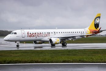 5H-FJI - Fastjet Embraer ERJ-190 (190-100)