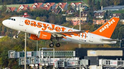 G-EZBU - easyJet Airbus A319