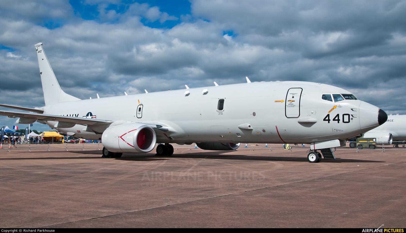 USA - Navy 168440 aircraft at Fairford