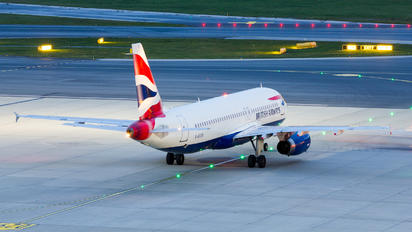 G-EUYK - British Airways Airbus A320