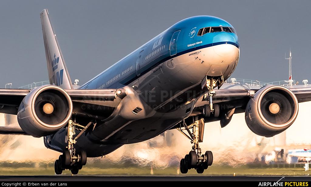 KLM PH-BQG aircraft at Amsterdam - Schiphol