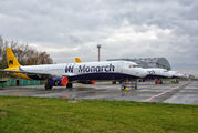 G-OZBZ - Monarch Airlines Airbus A321 aircraft