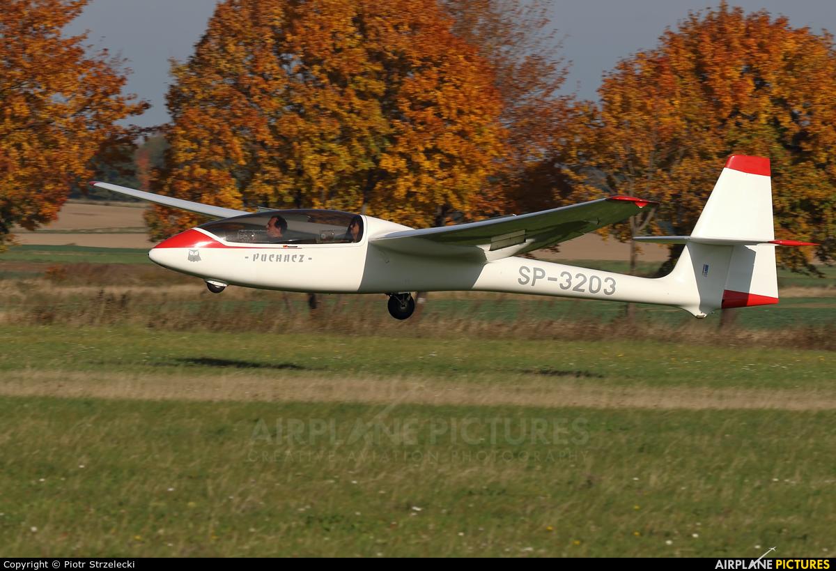 Aeroklub Jeleniogorski SP-3203 aircraft at Świebodzice