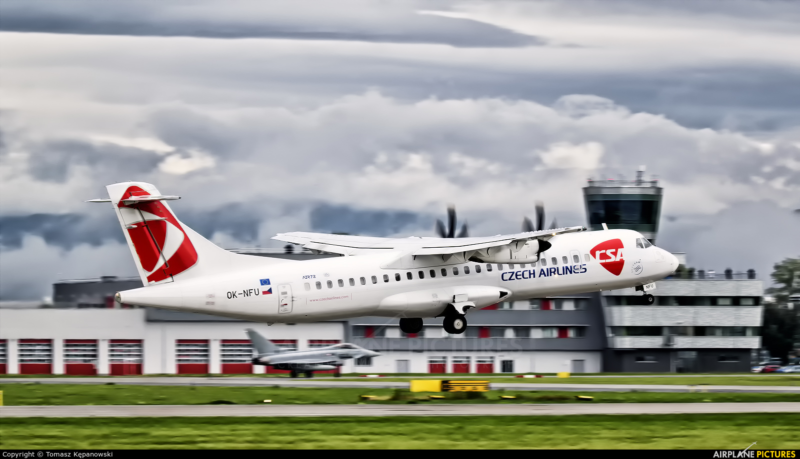 CSA - Czech Airlines OK-NFU aircraft at Ostrava Mošnov