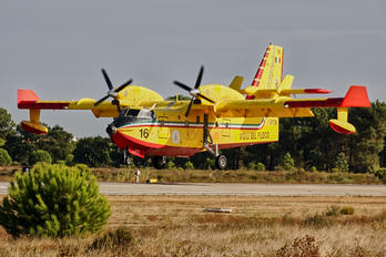 I-DPCW - Italy - Protezione civile Canadair CL-415 (all marks)