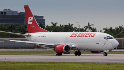 HA-EMX - Estafeta Carga Aerea Boeing 737-300SF