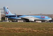 OO-JLO - TUI Airlines Belgium Boeing 737-800 aircraft