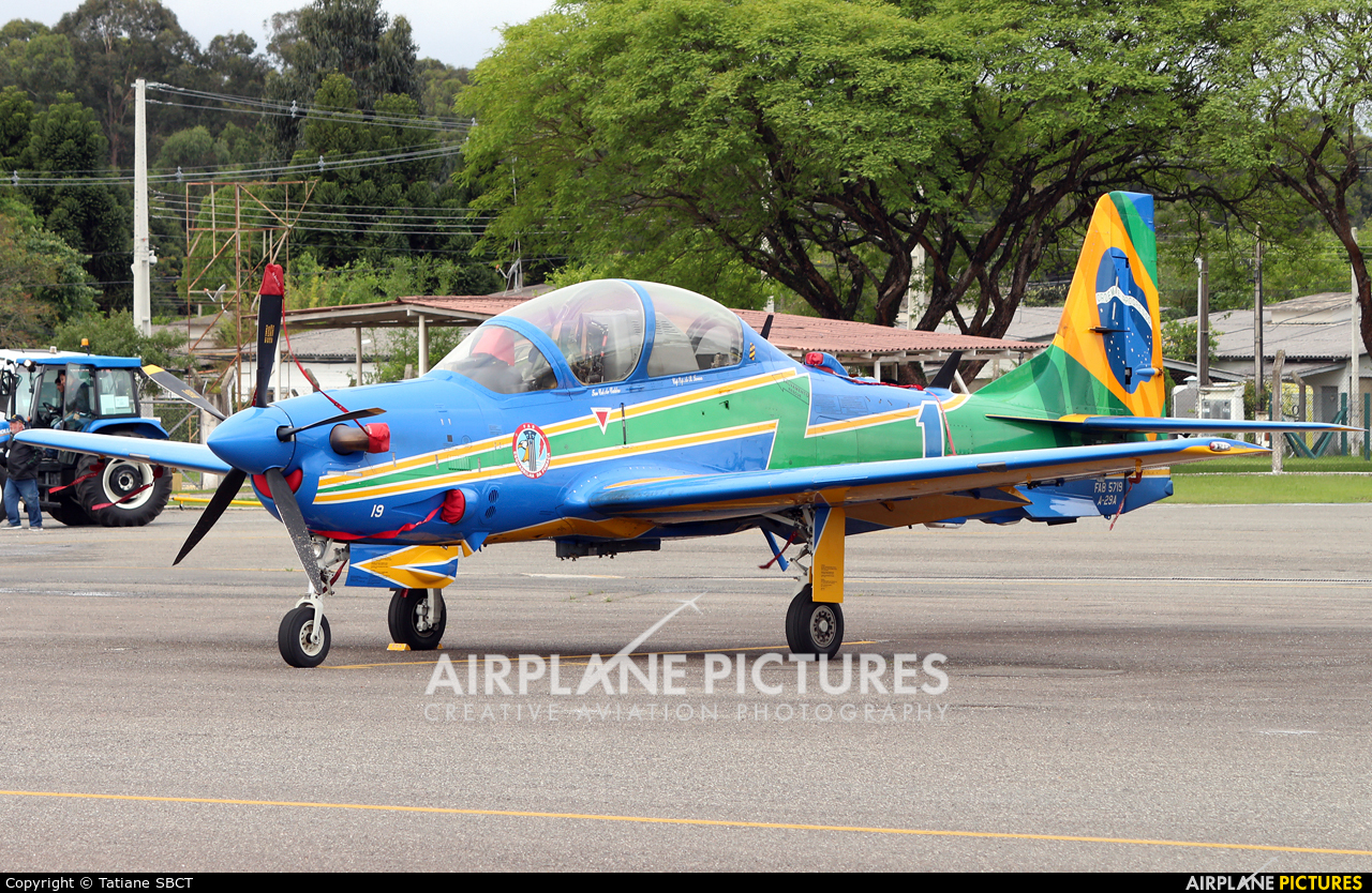 "Brazil - Air Force ""Esquadrilha da Fumaça"" FAB5719 aircraft at Curitiba - Bacacheri"