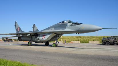 77 - Poland - Air Force Mikoyan-Gurevich MiG-29A