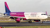 HA-LXP - Wizz Air Airbus A321 aircraft