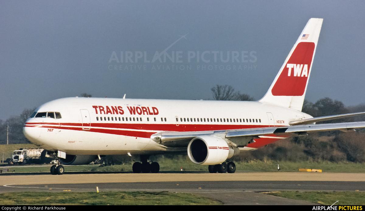 TWA N608TW aircraft at London - Gatwick