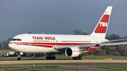 N608TW - TWA Boeing 767-200ER
