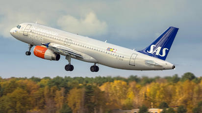 OY-KAS - SAS - Scandinavian Airlines Airbus A320