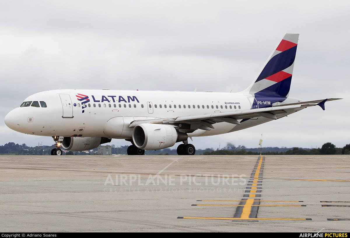 LATAM PR-MYM aircraft at Curitiba -  Afonso Pena