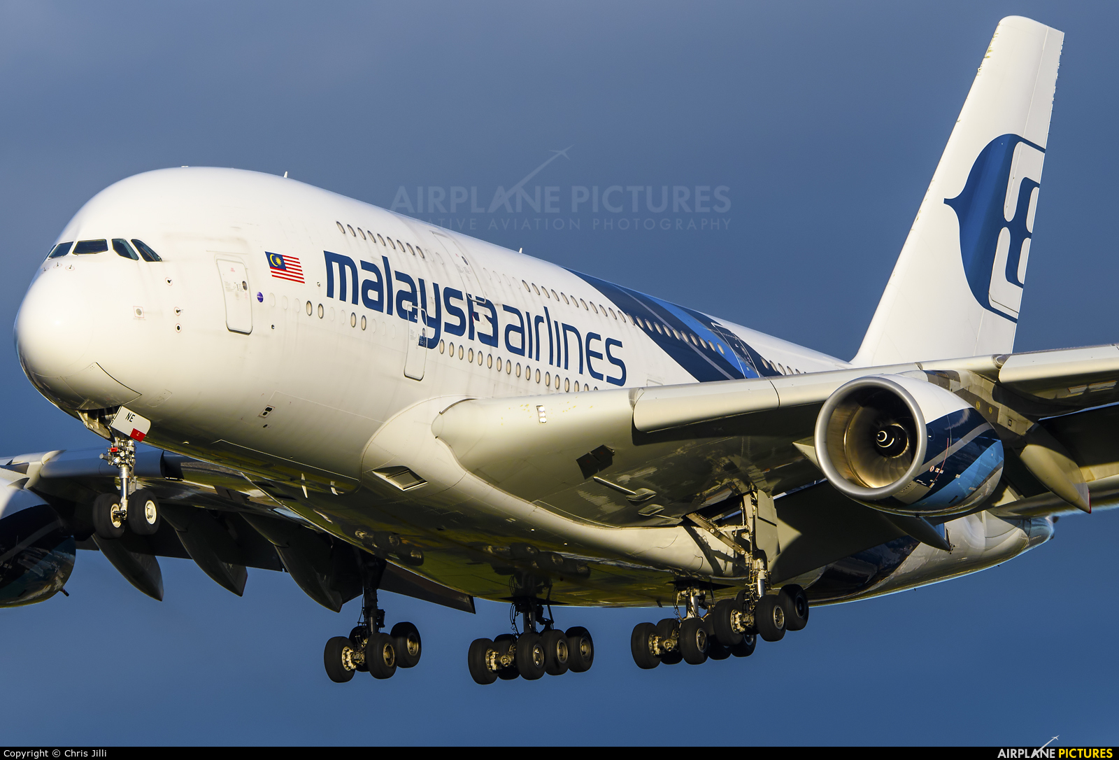 Malaysia Airlines 9M-MNE aircraft at London - Heathrow