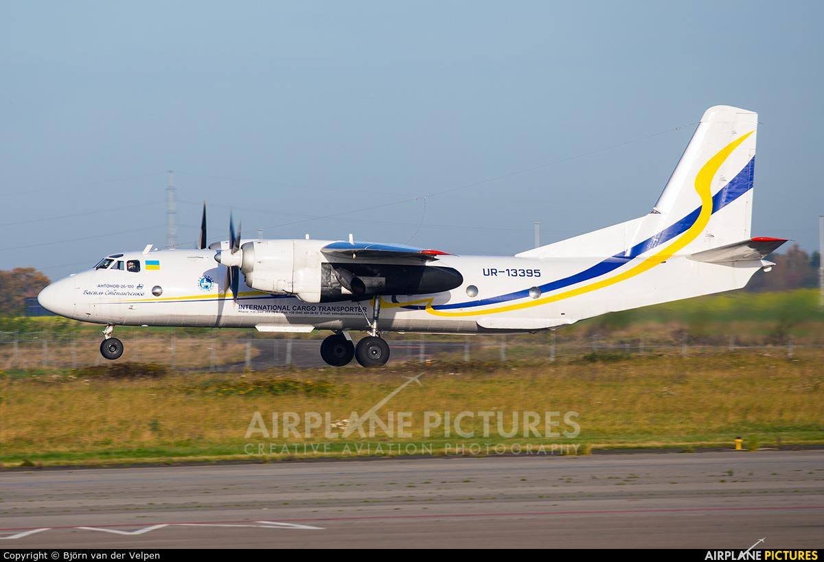 Antonov Airlines /  Design Bureau UR-13395 aircraft at Liège-Bierset